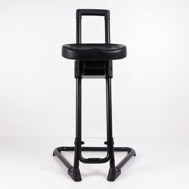 China PU Foam ErgonomicSit Stand Work Stool Height Adjustable 5 Years Service Life factory
