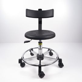 China Industrial Ergonomic ESD Chairs Save Space With Foot Ring 2 Adjustments Way factory