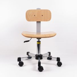 China Dual Wheel Ergonomic Industrial Task Chair With Backrest Height Tilt Adjustments factory