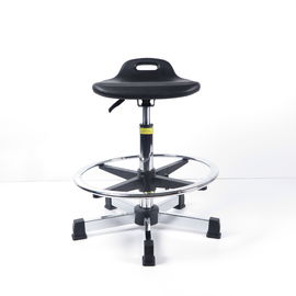 China Industrial Ergonomic Lab Stool Chair Anti Static PU Foaming For Factory Worker factory